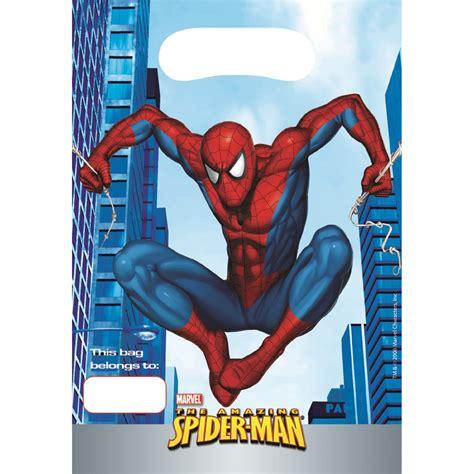 Imagenes Cumpleaños Hombre Araña | compra bolsas cumplea 241 os hombre ara 241 a