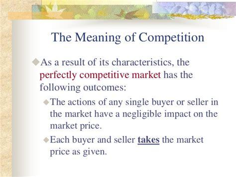 4 1 Markets And Competition Mba by Market Competition Mba Parakramesh Jaroli