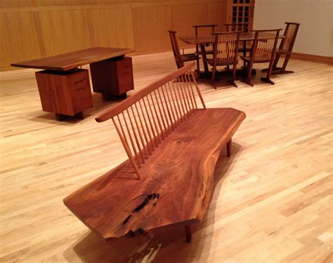 How To Build A Rustic Dining Room Table hallowed trees the furniture of george nakashima
