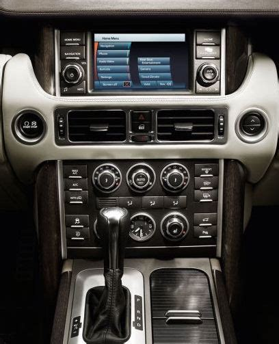 Range Rover Interior Upgrade by Land Range Rover Touch Screen Auto