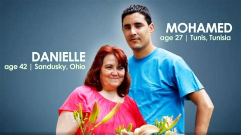 mohamed and fiance danielle 90 day 90 day fiance stars danielle and mohamed split us weekly