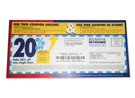 20 coupon for bed bath and beyond be on the lookout for bed bath beyond coupons you can use