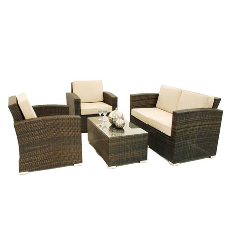 high street sofa shops two seater sofa rattan garden set by out there exteriors