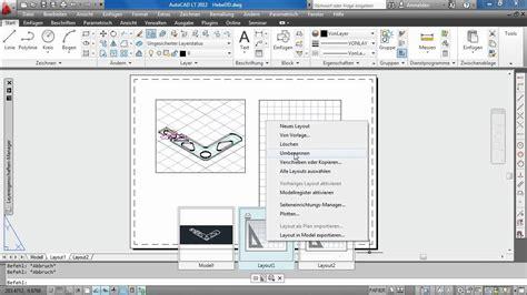 templates en autocad papierbereich plotten autocad lt 2012 youtube