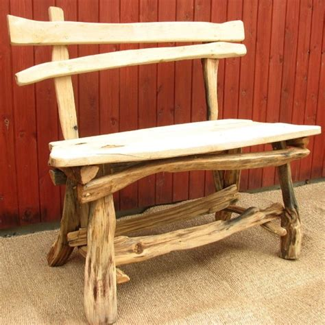 rustic outdoor benches rustic garden bench anything pinterest