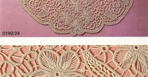 Macrame Crochet Lace - macram 233 crochet lace burda january 1990 point