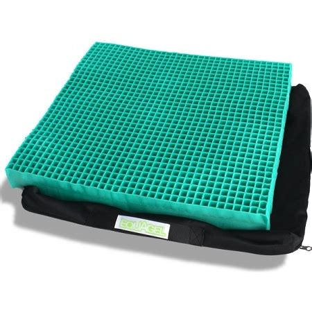 gel cusion equagel general gel wheelchair cushion with sculpted