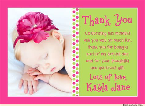 Baby Shower Gift Thank You Card Messages - how to decide appropriate baby shower thank you card message baby shower ideas