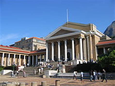 Uct Mba Ranking by Of Cape Town