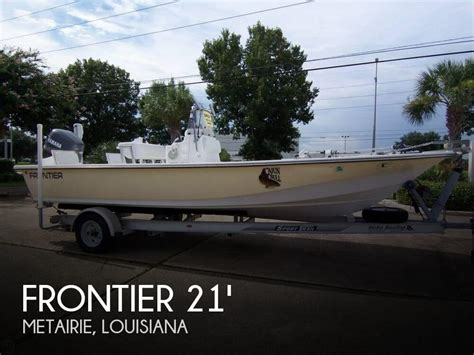fishing boats for sale louisiana frontier 210 center console 21 for sale in metairie la
