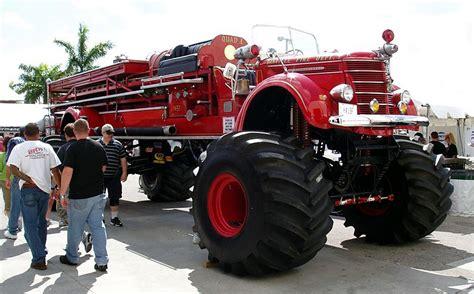 fire trucks monster truck lifted vintage fire truck tennessee speed sport blog