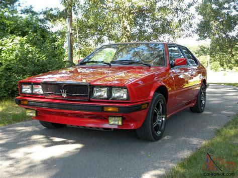 1987 Maserati Biturbo by 1987 Maserati Biturbo Si 5 Speed All Services