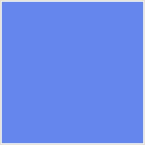 cornflower color 6486ed hex color rgb 100 134 237 blue cornflower blue