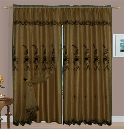 coffee curtains margot curtain coffee luxury home textiles close outs all