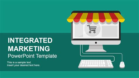 Integrated Marketing Communications Powerpoint Template Slidemodel Marketing Strategy Powerpoint Template