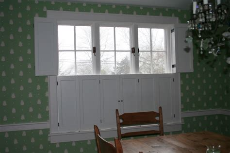 Raised Panel Interior Window Shutters by Raised Flat Panel Interior Colonial Shutterworks