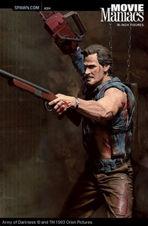 evil dead film cell army darkness ash bruce cbell 18 quot mcfarlane movie 1 4