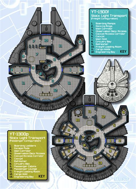 millennium falcon floor plan blueprints schematics and diagrams cool mffanrodders