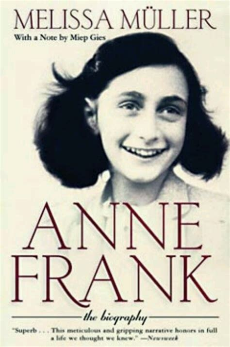 Anne Frank Biography Melissa Muller | pin by susan rodgers on books to read pinterest