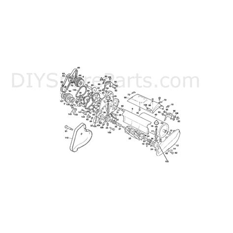 qualcast classic 35s parts diagram qualcast punch classic 35s f016t49413 parts diagram page 2