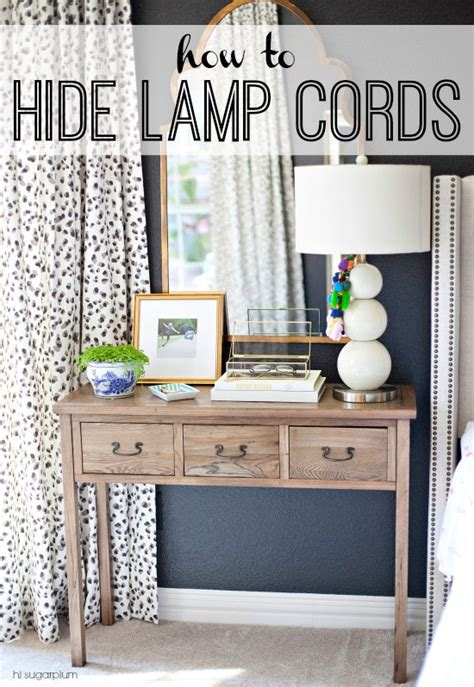 hide cords desk middle room hi sugarplum project rewind how to hide l cords