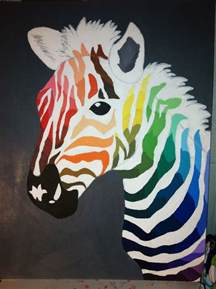 color wheel project my color wheel project i used a zebra as inspiration