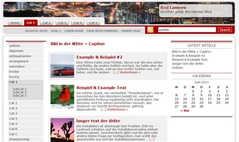 wordpress layout kopieren red lantern ein css3 wordpress theme mit wechselbarem
