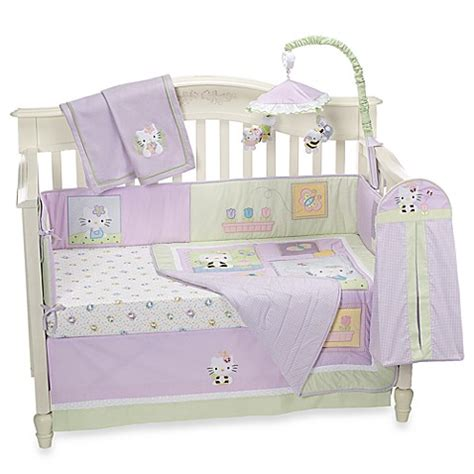 Lambs Ivy 174 Hello Kitty Friends 5 Piece Crib Bedding And Friends Crib Bedding