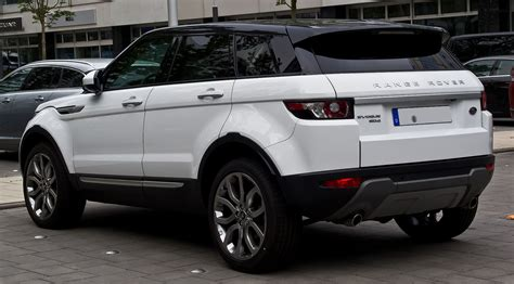 land rover evoque black and white jaguar land rover sues landwind for copying range rover evoque