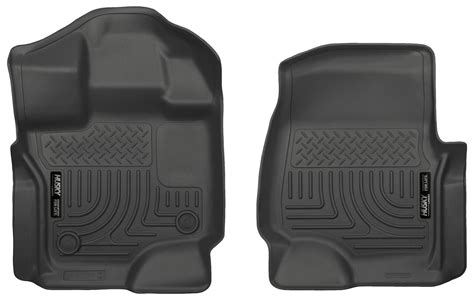 Ford F150 Supercrew Floor Mats by Husky Weatherbeater All Weather Floor Mats For Ford F 150
