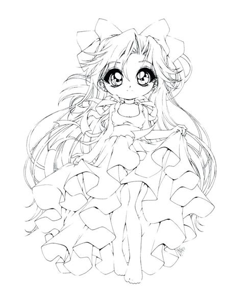 coloring page anime princess coloring pages for all ages anime princess