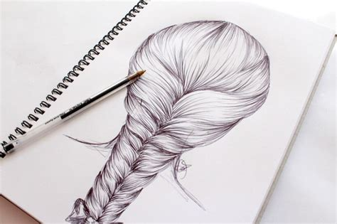 28 how to sketch hair