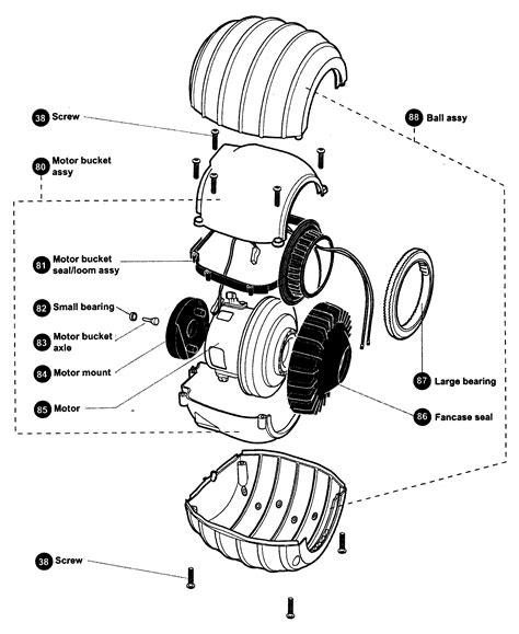 dyson dc15 parts diagram dc15 exploded diagrams drawings schematic