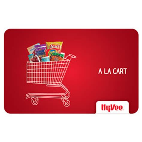 Hyvee Gift Card - shop gifts hy vee gift cards hy vee gift card a la cart 20500