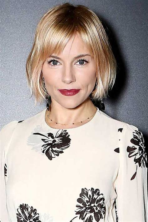 blunt haircuts for fine hair 15 short blunt bob with bangs bob hairstyles 2017