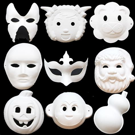 pattern paper mask online get cheap paper mask pattern aliexpress com