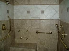 Handicap Bathroom Shower Ideas Handicap Shower Traditional Bathroom Nashville By
