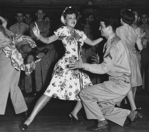 jitterbug swing dance faye mckenzie dancing the jitterbug with a serviceman at