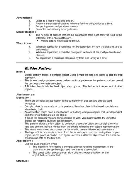 design pattern notes by sriman design pattern notes nagpur university
