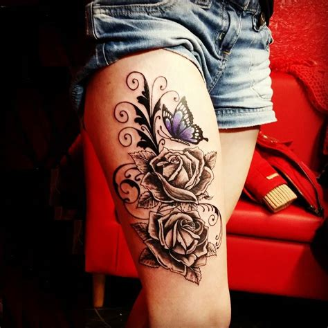 girl tattoos on thigh 9 important lessons butterfly tattoos meanings taught
