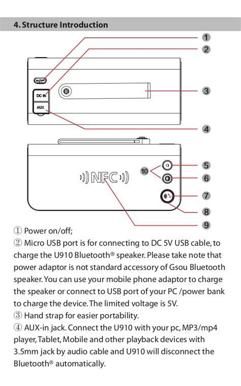 blackweb lighted bluetooth speaker gsou u910 bluetooth speaker user manual