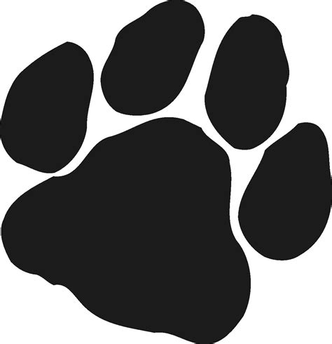 panther paw print clip clipart best clipart best blue panther paw