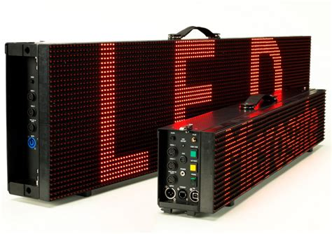 Led Display 32x128 pixel micrograph led display kit displays and