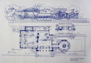 Custom House Blueprints frank lloyd wright atelier blueprint by blueprintplace on etsy