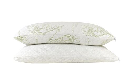 bamboo pillow with cool comfort original hotel comfort bamboo memory foam pillow lots of