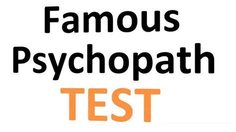 psychopath test quelques liens utiles