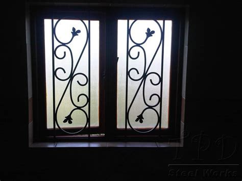 Decorative Security Window Bars by Tpd Steel Works Burglar Bar Images