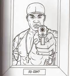 gangsta rap coloring book gangsta rap coloring book 50 cent