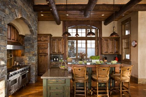 Kitchen Rustic Design Rustic Interior Decorating Ideas Blogs Avenue