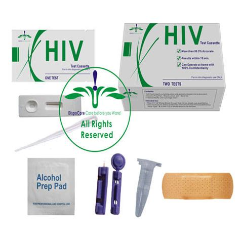 hiv 1 2 rapid test kit home hiv test kit